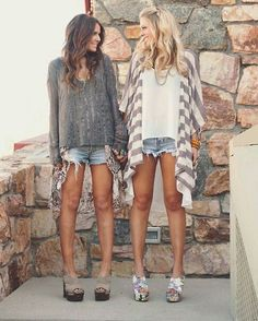 Shorts and boho vibes
