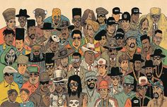 Hip-hop meets Comic book - artist Ed Priskor