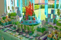 AZUCAR FLOR party studio: La Sirenita, bajo el mar