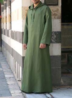 SHUKR USA | Linen Hooded Galabiyya Muslim Men Clothing, African Clothing For Men, Islamic Clothing, Indian Men Fashion, Men's Fashion, Modest Fashion, Islamic Fashion, Muslim Fashion, Thobes Men