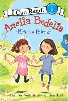 Amelia Bedelia makes a Friend, and a delicious recipe for Strawberry Shortcakes.
