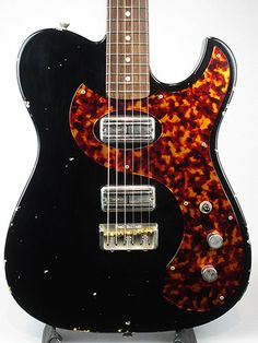 Fano Guitars / TC-6 Bull Black Guitar Free Shipping!, $4 261.00