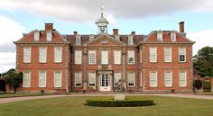 Hanbury Hall in Worcestershire, UK.