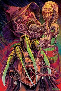 Freddy Krueger-A Nightmare On Elm Street............