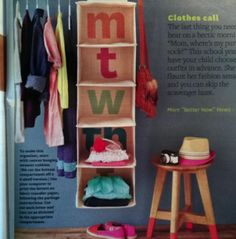 children's closet, kids closet, organization, room organization, clothing organization, organized space, DIY, inspiration
