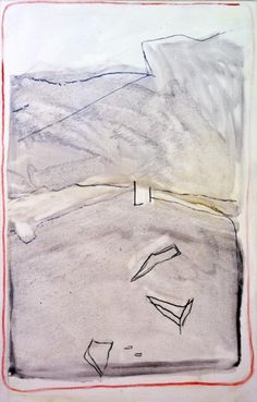 Raoul De Keyser,Wait,  Oil and charcoal on canvas,   49 3/8 x 31 5/8 inches (125.4 x 80.3 cm), 2006