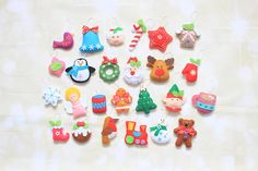 Check out this item in my Etsy shop https://www.etsy.com/listing/248977097/christmas-ornaments-for-advent-calendar