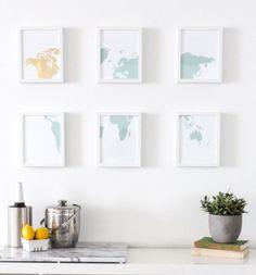 20+leuke+en+makkelijke+zelfmaak+ideetjes+voor+muur+decoraties