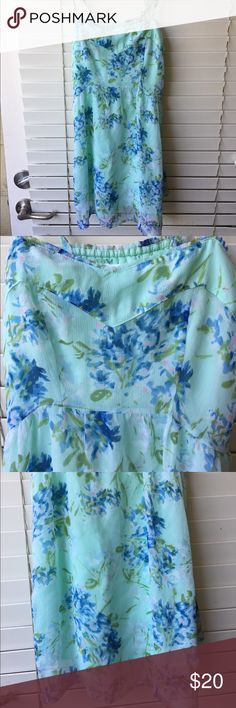 """Abercrombie & Fitch Floral Dress Length 29 1/2"""" Chest 14"""" Abercrombie & Fitch Dresses"""