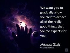 Expect really good things.