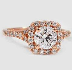 Brilliant Earth stunning diamond ring  My favorite so far. Want in rose gold would be amazing