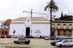 Ermita de La Soledad restaurada antes de la remodelación de la plaza que lleva su nombre #Huelva