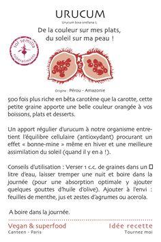 L'urucum roi du bétâ-carotène  http://ow.ly/yMgA4 http://www.sol-semilla.fr/-superaliments/87-urucum-graines-80-g--3760213862136.html