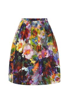 This skirt truly looks like a work of art. It's a classy take on florals for the Adara Print Skirt - Lyst Floral Fashion, Look Fashion, Spring Fashion, Womens Fashion, Coast Skirts, Moda Floral, Coast Dress, Printed Skirts, Dress Me Up