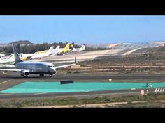 SPOTTING Gran Canaria airport, Canary Islands Spain