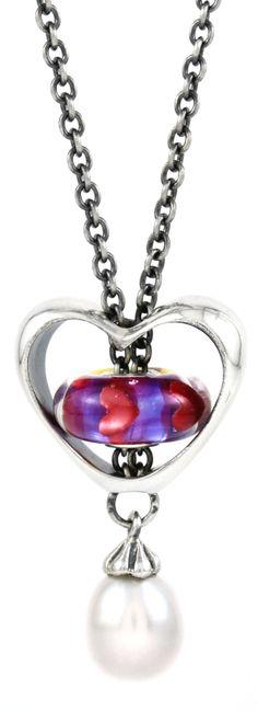 Trollbeads Be My Valentine Necklace #ValentinesDay #Trollbeads #Valentine #Heart #Love #Necklace