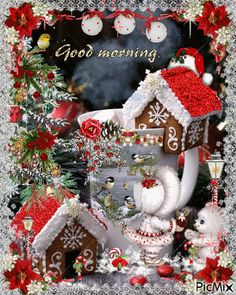 The perfect GoodMorning MerryChristmas ChristmasMorning Animated GIF for your conversation. Discover and Share the best GIFs on Tenor. Good Morning Christmas, Merry Christmas Gif, Christmas Scenes, Christmas Quotes, Little Christmas, Christmas Pictures, Christmas Art, Christmas Greetings, Winter Christmas