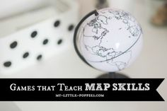 Games that Teach MAP SKILLS  Do you want to add some fun activities to your geography education program? Ad some games and improve world knowledge while making memories!