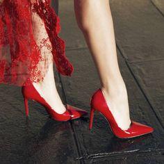 Paire d/'escarpins Sorcière Verni Femmes Chaussures