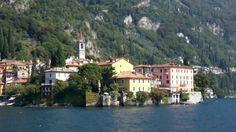 Varenna sul lago di Como...bellissime le sue case colorate che si affacciano sul lago