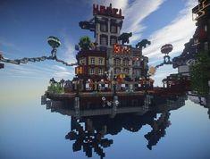 News Server List Spotlights: Creative Servers Minecraft Survival, Minecraft Tips, How To Play Minecraft, Minecraft Projects, Minecraft Designs, Minecraft Stuff, Minecraft City Buildings, Minecraft Architecture, Minecraft Houses