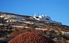 Church of Panagia, up on the hill Greek Islands, More Photos, Monument Valley, Greece, Europe, Fan, Travel, Beautiful, Greek Isles