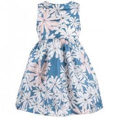 Hucklebones - SS15 - Printed Silk Bodice Dress