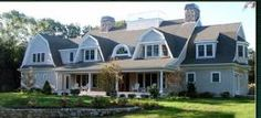 Cape Cod with extensive porch