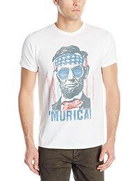 581b0e4287 Hanes Men's Graphic Tee - Americana Collection, America, Small Short-sleeve  T-shirt featuring American flag-inspired graphic at front Crew neckline  Modern ...
