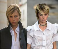 A Slideshow of the Most Amazing Shag Haircuts: Model Edie Campbell