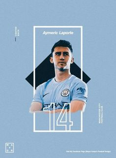 volley - Manchester city football club Laporte Source by mastomiwidianto Sports Graphic Design, Graphic Design Posters, Graphic Design Inspiration, Sport Design, Massimo Vignelli, Manchester City Wallpaper, Manchester Football, Football Awards, Sports Graphics