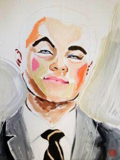 "Saatchi Art Artist Antti Eklund; Painting, ""Leonardo"" #art"