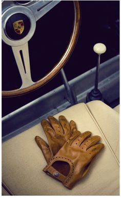 Driving gloves.