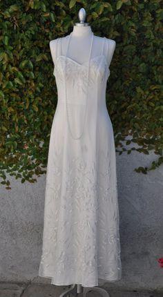 Wedding Dress/Bridesmade Dress/ Embroidered by ElenaCollectionUSA, $150.00