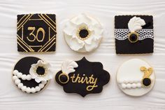 Great Gatsby cookies by The Sugarie Sweet Shop