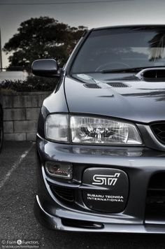subaru 2.5 rs. Meanest looking of them alll