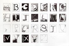 Secret Alphabet 1985 edition Litho print 83 x Alphabet City, Alphabet Print, Litho Print, Illustrators, Photo Wall, Frame, Artist, Prints, Black