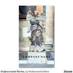 The fontana del pantheon portrait rome italy business card sculpture inside the pantheon rome italy business card reheart Gallery
