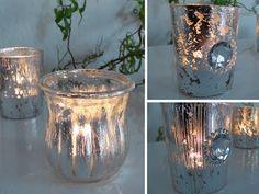 DIY: Windlichter im Deko Bauernsilber Look einfach selbst machen | Deko Kitchen