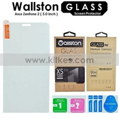 Wallston Tempered Glass Screen Protector ASUS Zenfone 2 (5inch / ZE500ML) - Rp 65.000 - kitkes.com Screen Guard, Asus Zenfone, Galaxy Note 4, Tempered Glass Screen Protector, Samsung Galaxy S6, Galaxies, Iphone, Cover, A5