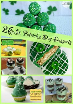 These easy recipes for St Patrick's Day will make you look like a baking queen! We've got recipes for cupcakes and other desserts perfect for your celebration. You can offer to bring food with confidence with these easy desserts!