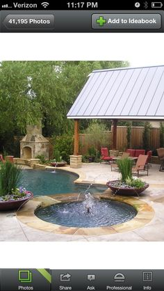 I LOVE This Concept, And The Shaded Pavilion Too! U0026lt;3 Landscaping Around.  Landscaping Around PoolBackyard LandscapingBackyard IdeasPatio ...
