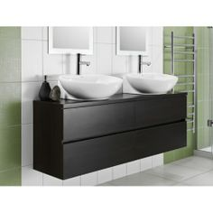 Leading retailer of plumbing supplies and bathroom products in Australasia. Visit one of our NZ wide plumbing stores or buy plumbing supplies online today Wall Hung Vanity, Black Vanity, Small Bathroom, Vanity Bathroom, Bathroom Organization, Amazing Bathrooms, Double Vanity, Plumbing, Cool Stuff