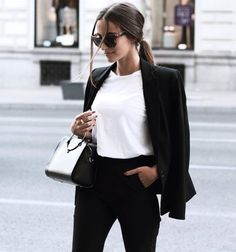 thestyle-addict: Blazer T-Shirt