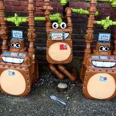 Monkey Meters in #newbedford #massachusetts by the mischievous @tombobnyc ❤️ shared via @tombobnyc
