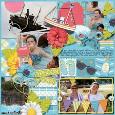 Layout using {Water Park Fun} Digital Scrapbook Kit by Magical Scraps Galore available at Gingerscraps and Scraps-N-Pieces http://store.gingerscraps.net/Water-Park-Fun.html http://www.scraps-n-pieces.com/store/index.php?main_page=product_info&cPath=66_152&products_id=9327 #magicalscrapsgalore