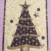 Wonky Christmas Trees - via @Craftsy