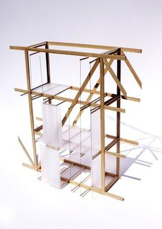 reference for Woodworking System Architecture, Architecture Portfolio, Architecture Details, Arch Model, Model Maker, Installation Art, Sculpture, Allotments, Architectural Models