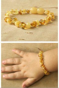 Baltic Amber Baby Teething Bracelet