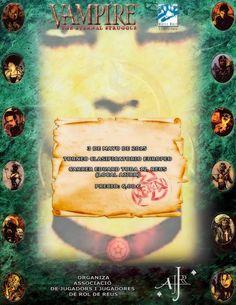 El Descanso del Escriba: Europeo del JCC Vampire:The Eternal Struggle(VTES)...